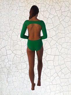 Dyan Surfer Girl Full Piece - Jade Peppermint Pebbles Swim