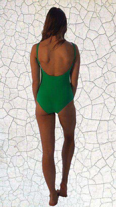 Kate One Piece Swimsuit - Jade Peppermint Pebbles Swim