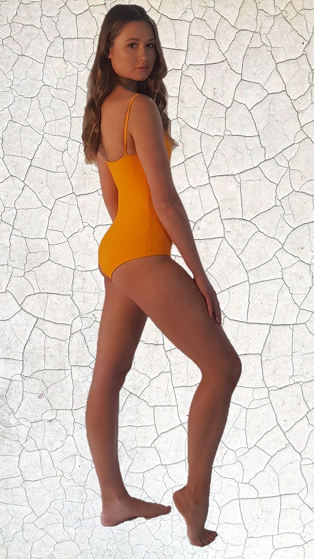 Loren 70'S One Piece Bathers - Sunshine Peppermint Pebbles Swim