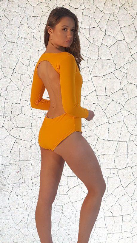 Dyan Surfer Girl Full Piece - Sunshine Peppermint Pebbles Swim