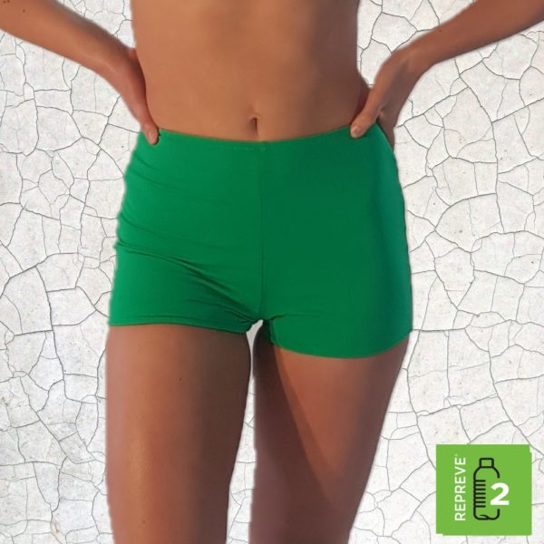 Nanette Shortie Bikini Bottom - Jade Peppermint Pebbles Swim