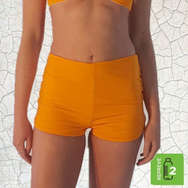 Nanette Shortie Bikini Bottom - Sunshine Peppermint Pebbles Swim