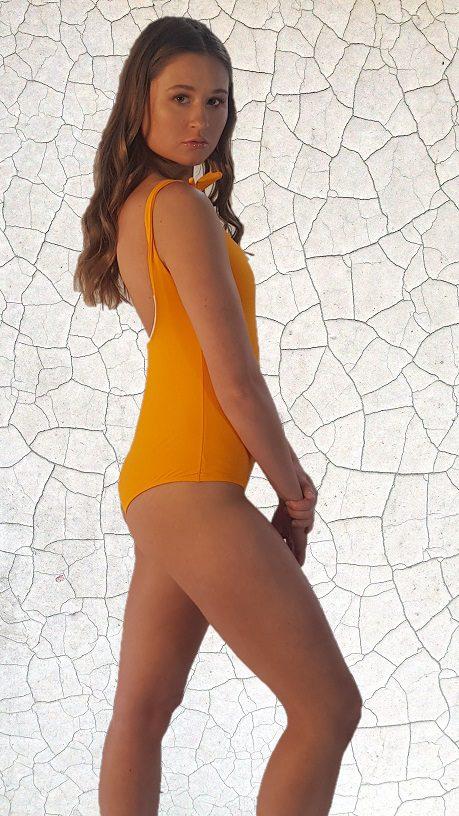 Kate One Piece Swimsuit - Sunshine Peppermint Pebbles Swim