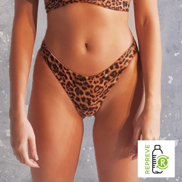Hipster Bikini Bottom - Leopard Peppermint Pebbles Swim